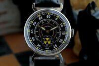 Pobeda Zim watch Chemical armies RHBZ Russian Soviet Military style Radiation