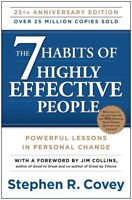The 7 Habits of Highly Effective People: by Stephen R. Covey PAPERBACK 2013, NEW