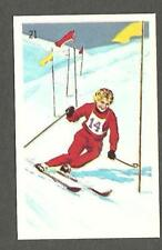 1961 Wheaties Great Moments #21 Anne Heggtveit Gold 1960 Skiing