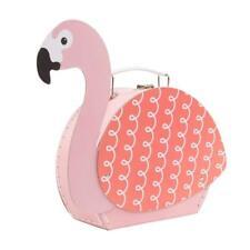 Sass & Belle Tropical Flamingo Pink Suitcase Storage Girl Bedroom Decor