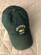 2012 Masters Augusta National Championship Cap Hat Bubba Watson Green Jacket