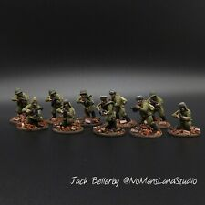 Pro Painted 28mm Soviet Smg Squad Bolt Action Warlord Games