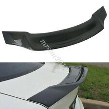 Carbon Fiber Trunk Rear Spoiler Lip For Benz W204 C250 &C63 Sedan 2008-2014