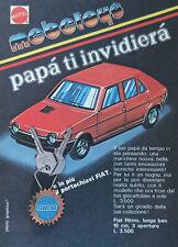 Pubblicità Advertising Italian 1978 MEBETOYS FIAT RITMO PORTACHIAVI MATTEL