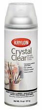 Krylon 1303 Acrylic Spray Paint Crystal Clear in 11-Ounce Aerosol For Artwork