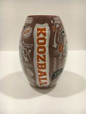 Koozball Football Shaped Can Coolie Cooler Koozie Coozie - cold beer and a ball