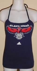 Womens Atlanta Hawks Reconstructed NBA Basketball Shirt Halter Top DiY