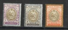Persian: Serie Of 3 Stamps New N°276/282 Value