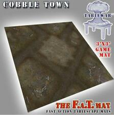 Tablewar FAT Mats 3' x 3'  3' x 3' - CobbleTown New