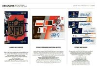 2018 PANINI ABSOLUTE FOOTBALL HOBBY LIVE RANDOM PLAYER 1 BOX BREAK