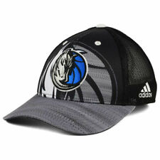 Dallas Mavericks Adidas NBA Shadow Trucker Mesh Snapback Adjustable Hat Cap MAVS