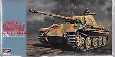 Hasegawa Pz. Kpfw V Panther Ausf. G, Steel Wheel Version 1/72 31137