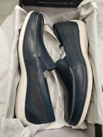 Rockport Aiden Panel Venetian  Men's Shoe; Color: Navy   Size: 11.5M  RETURN