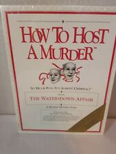 How To Host A Murder: The Watersdown Affair Dinner Party Game Factory Sealed
