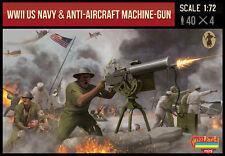 Strelets us navy & anti-aircraft machine gun troops (wwii) - échelle 1/72 M112