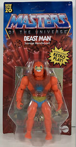 """Masters of the Universe Origins Beast Man Action Figure 5.5""""  By Mattel, Good"""