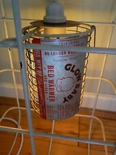 Unique Vintage Bradley & Burch Baby Glow Heater Converted to Cage Light Fitting!
