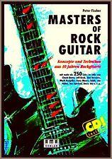 Masters of Rock Guitar 250 Riffs Book + CD Blackmore Santana Morse Hendrix BB KING