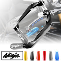 CNC Brake Clutch Lever Hand Guards Protectors fit KAWASAKI Ninja 250R ZX-6R ZX6R