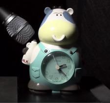 Rhythm Clock Cow Japan Wake Up Don't Sleep Your Life Away