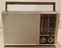 Magnavox D2315 Portable Weatherband AM FM Transistor Radio Still Works