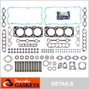Fits 02-06 Kia Sedona Sorento 3.5L DOHC Head Gasket Set Bolts G6CU