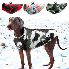 Dog Winter Coats for Large Dogs Waterproof Print Pet Clothes Jacket Boxer L-6XL