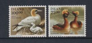 Iceland - 1991, Birds set - MNH - SG 763/4