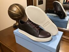 Lanvin Sneakers Cap Toe Burgundy Size 7US 6UKBrand New