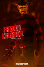 Freddy krueger nightmare on elm street Sideshow/Hot Toys 1/6 figure uk navire 2017