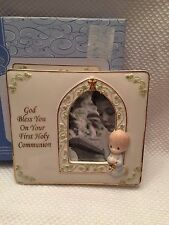 Precious Moments God Bless You On Your First Holy Communion Frame (Boy) NIB