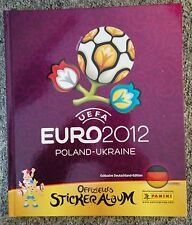 Lot de 10 vignettes panini EURO 2012 parmi la liste