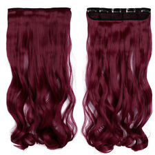 100% Cheap Price Clip In Real As Human Hair Extensions Half Full Head SYNTHETIC