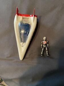 Zee toys metal man Nasa 1 space ship toy 1977 hong kong