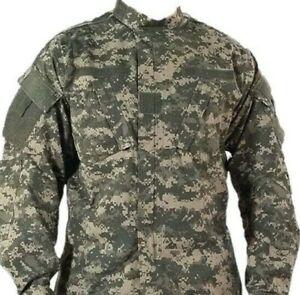 Original US American Acu camo large regular lightweight windproof jacket shirt