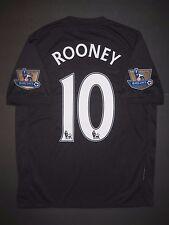 2009-2010 Authentic Nike Manchester United Wayne Rooney Jersey Shirt Kit England