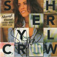 """Sheryl Crow Autogramm signed CD Booklet """"Tuesday Night Music Club"""""""