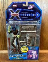 Nightcrawler Vintage X-Men Evolution Cartoon Figure New 2001 Toybiz Marvel