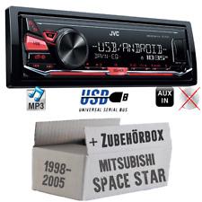 JVC Radio für Mitsubishi Space Star MP3 USB Autoradio Android KFZ Auto 4x50Watt