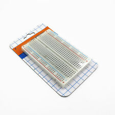 Mini Universal Solderless Breadboard 400 Contacts Tie-points Available 8.5*5.5CM
