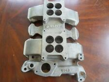 1959-63 Oldsmobile 2x4 Intake Manifold aluminum Weiand SAY WHY AND J-2 olds W04D