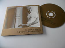 SIR GEORGE MARTIN : THE WORLD'S NO.1 PRODUCER PROMO CD ALBUM GMCD001 BEATLES
