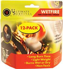 Ultimate Survival Ust 20-1Wg0412-Bx12 WetFire Camping Tinder Fire Starter