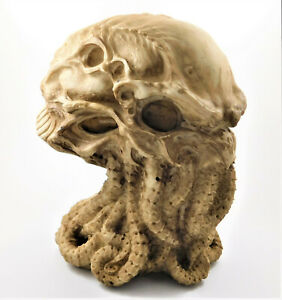 Cthulhu Skull Figurine Ornament Statue Lovecraft Octopus Sculpture - James Ryman