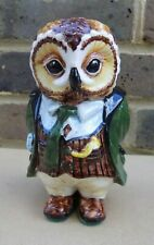 RYE CINQUE PORTS POTTERY Country Gentleman Figure - Oliver Owl