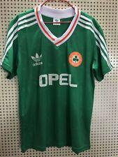 Republic Of Ireland 1990 Adidas Home Jersey Classic Retro Size Large