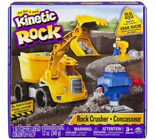 Kinetic Sand Rock Crushing Set Mould To Pave A Road Create Boulders And Crush