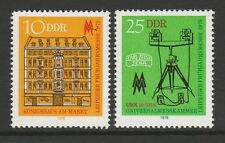 East Germany 1978 Leipzig Spring Fair SG E2023-E2024 MNH