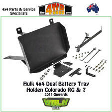 HULK 4x4 Dual Battery Tray suits Holden Colorado RG 7 2011-Onwards
