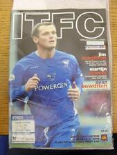 15/05/2004 Play-Off Semi-Final Division 1: Ipswich Town v West Ham United  . Thi